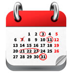 オープンキャンパスカレンダー